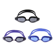 Adult Waterproof PC Lens Anti-Fog UV Protection Swim Glasses Swimming Goggles