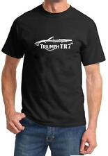Triumph TR-7 TR7 Convertible Classic Sports Car Design Tshirt NEW FREE SHIP