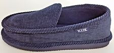 LOOX WALKING COMFORTABLE HOUSE SLIP ON INDOOR / OUTDOOR SHOES NAVY MEN SIZE