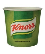 Knorr Vegetable or Tomato soup 76mm Kenco Maxpax vending In cup 7oz Incup drinks