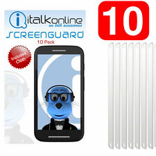 10 Pack LCD Screen Protector Guard for Samsung B7300 Omnia Lite