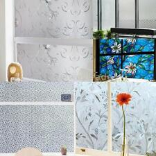 Self Adhesive Bathroom Window Home Privacy Waterproof Frosted Glass Film Sticker