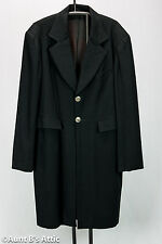 Victorian Era Frock Coat Black Wool Wahmaker Western Gentleman's Long Coat