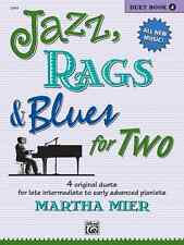 Jazz, Rags & Blues for Two - Book 4: Piano Sheet Music / Songbook