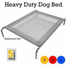 New Extra Heavy Duty Dog Bed Trampoline Hammock Puppy Frame Cover Mat SML