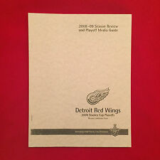 2009 NHL Detroit Red Wings Stanley Cup playoffs media guide / Datsyuk / Lidstrom