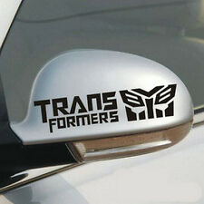 2 Pcs Transformers Autobots Decal Car Rearview Mirror Decals Stickers