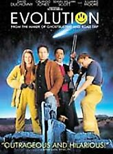 Evolution  DVD David Duchovny, Julianne Moore, Orlando Jones (J13)