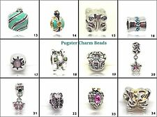 Pugster® Beads Silver Plated Charms, European Charms, Charm For Bracelet