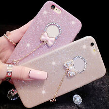 Luxury Thin Gloosy Bling Glitter Silicone Rubber Case Cover for iPhone 6 6s Plus