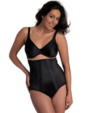 Womens Miraclesuit Shapewear Luxurious Lace Black Ladies Hi-Waist Brief 2735
