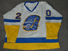 Mike Klassen Flint Generals 83/84 Game Worn Jersey Matched Turner Cup Season