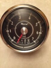 FARIA OMC SYSTEM CHECK OUTBOARD BOAT TACHOMETER GAUGE~JOHNSON~EVINRUDE~TC4508A