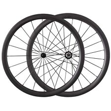 38mm Clincher Carbon Wheels Cycling Ultra Light 700C Bicycle Road Bike Wheelset
