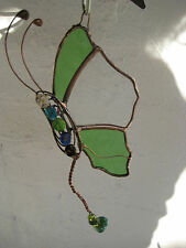 leadlight suncatcher - butterfly - stained glass