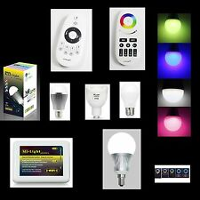 2.4G MiLight E27 E14 9W Wireless Smart CW LED Lamp Bulb With Remote Control CCT