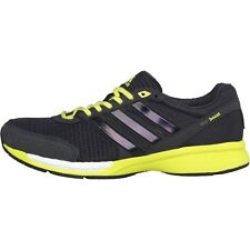 adidas Mens Adizero Ace Boost 7 Neutral Running Shoes Grey/White/Yellow-Green