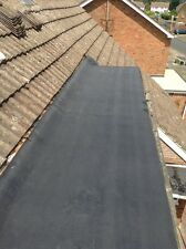 SELF ADHESIVE  QUALITY FLAT ROOF AND SHED FELT  1 MTR  WIDE x 4 MTRS. LONG BLACK