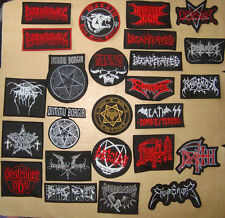 DEATH EMPEROR DISSECTION DYING FETUS DECAPITATED WATAIN Embroidered PATCH