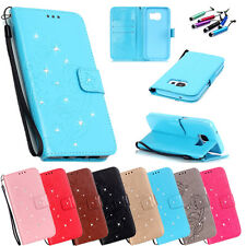 hOT Pattern Luxury Leather Wallet Card Holder Flip Case Cover For Samsung Galaxy