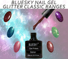 Bluesky GLITTER Range Classic UV LED Lamp Soak Off Nail Gel Polish Manicure Pedi
