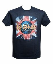 DEF LEPPARD - ROCK OF AGES LOGO - Official T-shirt - Metal - New M L XL