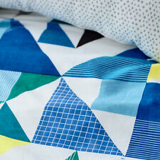 "ADAIRS TRIANGLE GEOMETRIC""CONCORD"" QUILT COVER SINGLE/DOUBLE /QUEEN RRP$149"