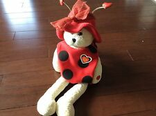 "PBC Chantilly Lane Love Bugz Animated 22"" Bear - Sings ""The Love Bug"" Kemp/Wayne"