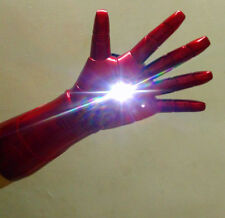 1:1 Iron Man Cosplay Glove The Avengers Stark Updated LED Light Hand with Laser