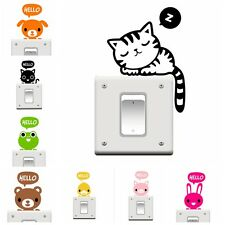 Cartoon Wall Stickers Light Switch Decals Art Mural Room Home Decor Removable