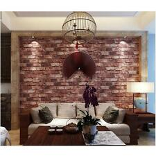 3D Stone Brick Wallpaper Bedroom TV Wall Background Chinese Retro Style Y8S4