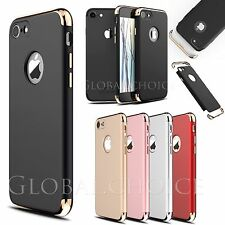 Luxury Ultra-thin Shockproof Armor Back Case Cover for Apple iPhone 7 Plus +Flim