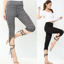 Womens Sports Gym Yoga Workout Leggings Running Lounge Casual Athletic Pants