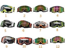 Motorcycle ATV Dirt Bike Off-Road Snowmobile Snowboard Ski Sport Goggles Anti UV