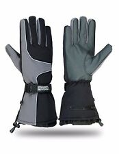 Snow Snowmobile Snowboard Skiing Winter Driving Gloves Textile Insulated Warm