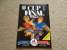 1985 FA CUP FINAL PROGRAMME - EVERTON .v. MANCHESTER UNITED - WEMBLEY