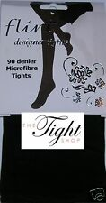90 Denier Opaque Thick Winter Tights (Flirt) - Lovely smooth fit