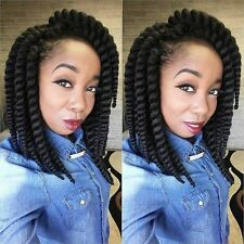 12 Inch 5 packs Flame Retardant Synthetic Hair Mambo Twist Crochet Braid Hair