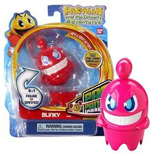 PAC MAN AND THE GHOSTLY ADVENTURES: BLINKY PANIC SPINNERS NIP