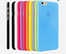 """0.3mm Ultra Thin Slim Matte Hard Back Case Cover Skin For Apple iPhone 6 4.7"""" 5"""