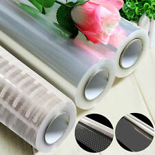 20/100m x 80cm Cellophane Roll Film Clear Dot Florist Hamper Gift Wrapping Paper