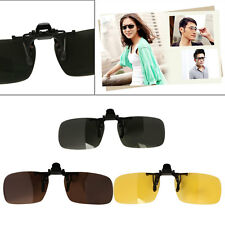 Durable Clip On Flip Up Sunglasses Polarized UV400 Driving Glasses Fishing New