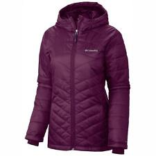 Columbia Women's Mighty Lite Hooded Plush Omni-Heat Jacket, M/Purple - $130 NWT!