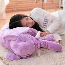 Cute Elephant Stuffed Animal Cushion Kids Baby Sleeping Soft Plush Pillow Toy