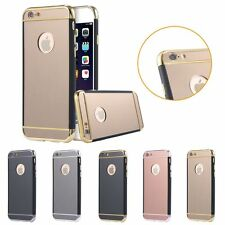 Luxury Clear Plating Mirror Frame Protector Case for iPhone 6 6s/6s Plus/5 5s SE