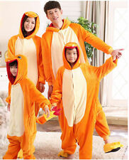 Hot!!Pokemon Unisex Adult/Kid Animal Onesie Kigurumi Cosplay Pajamas Charmander