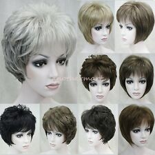 New Fashion Sexy Women Short Wig Synthetic Natural Hair Pixie Full Head Wigs am4