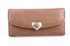 Hot Heart Card Coin Long Lady Purse Women's Clutch Wallet PU Leather Hand Bag