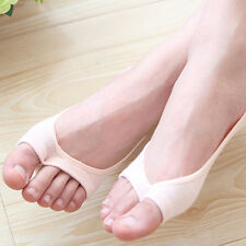 Women Fashion Summer  Invisible Anti Slip Ankle Boat Open-toed Socks Refined