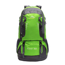 60L Waterproof Outdoor Backpack Camping Hiking Mountaineer Travel Rucksack Bag